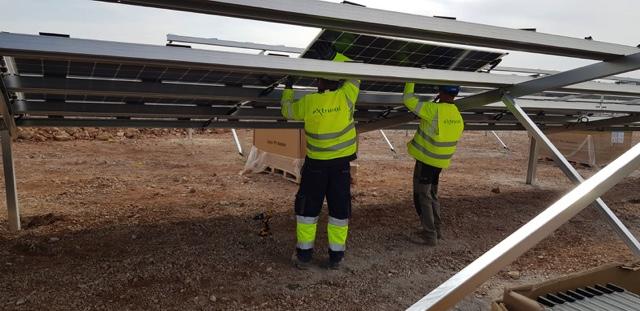 Extrusol, a benchmark as a photovoltaic park installation company