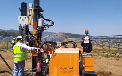 """Instalación campo de pruebas en la Planta Solar  """"La Nava"""" , Ciudad Real"""